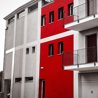 edifici residenziali nuovi