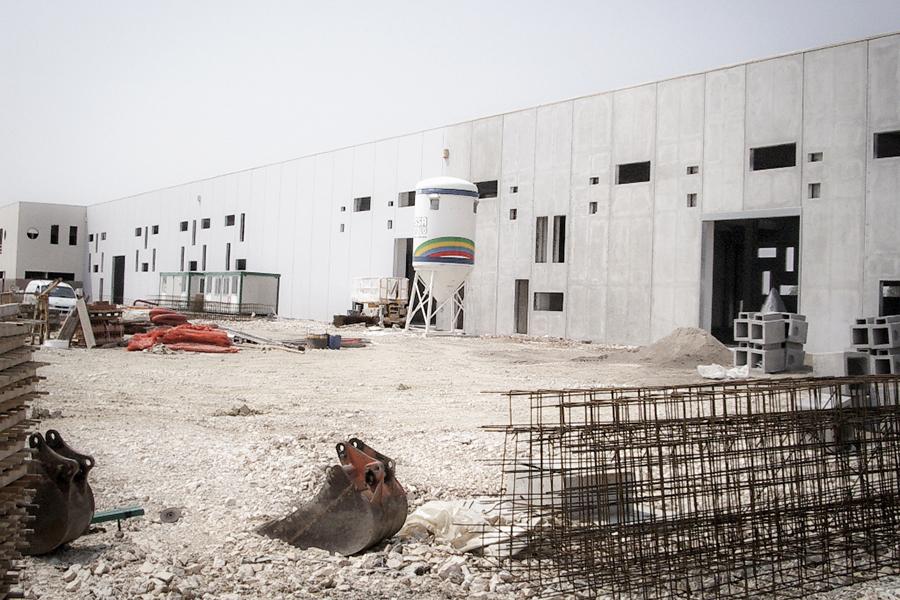 Lavori edilizia settore industriale