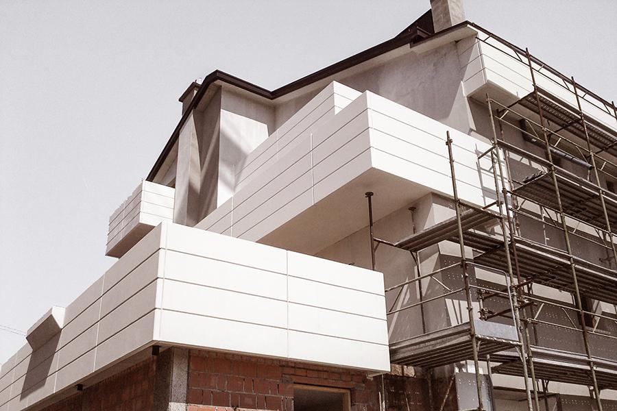 costruzione condominio