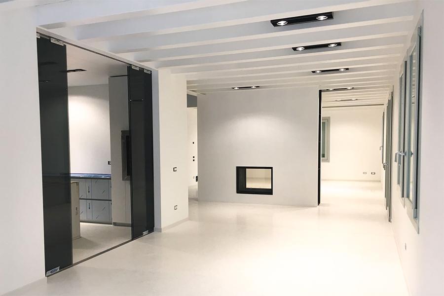 Interior design bianco e nero